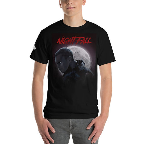 """Nightfall"" Men's Short Sleeve T-Shirt"