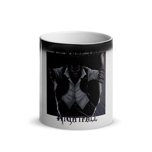 """""""Beware The Nightfall"""" Glossy Magic Mug"""