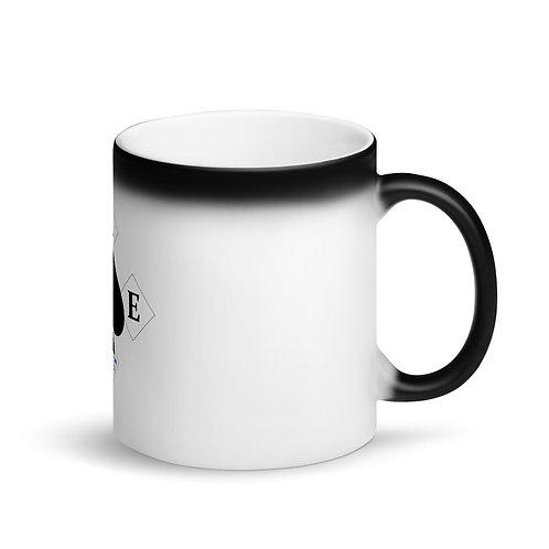 A.C.E. Logo Matte Black Magic Mug
