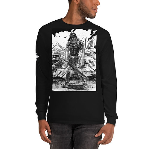 "Ready For War"" Men's Long Sleeve Shirt"