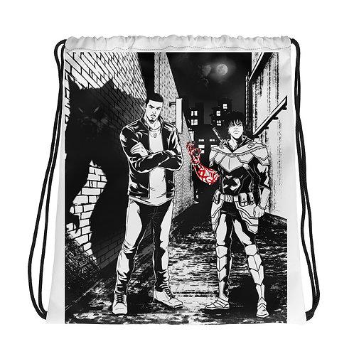 """Vash & Vahn"" Drawstring Bag"