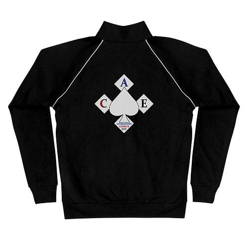 A.C.E. Logo Piped Fleece Jacket
