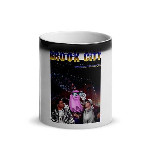 """BROOK-CITY"" Glossy Magic Mug"