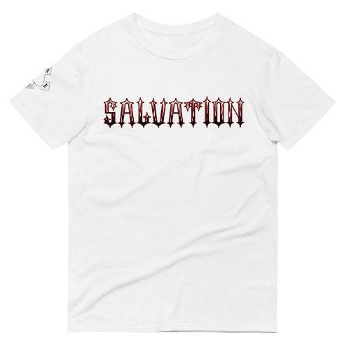 """""""Salvation"""" Banner Unisex Short-Sleeve T-Shirt"""