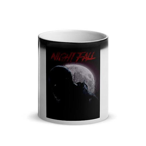 """Nightfall"" Glossy Magic Mug"