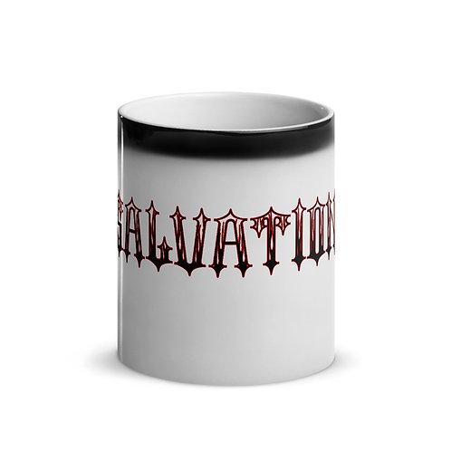 """""""Salvation"""" Banner Glossy Magic Mug"""