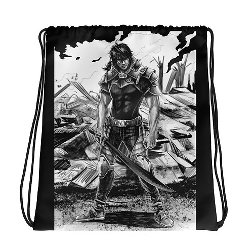 """Ready For War"" Drawstring bag"