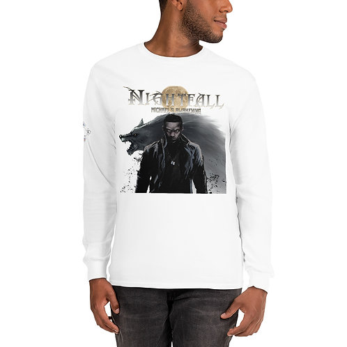 """Nightfall: Michael's Awakening"" Men's Long Sleeve Shirt"