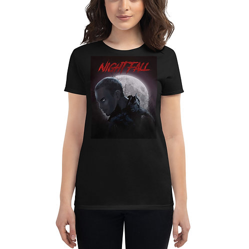 """Nightfall"" Women's Short Sleeve T-Shirt"