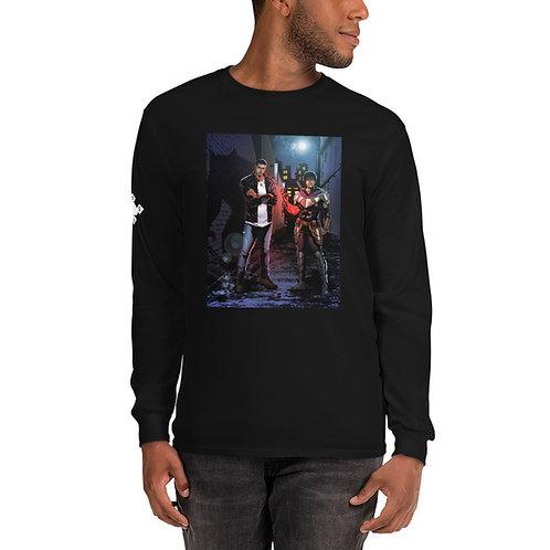 """""""Vash & Vahn"""" Men's Long Sleeve Shirt"""