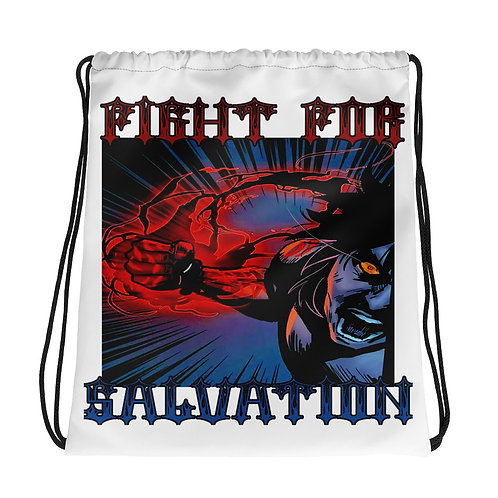 """Salvation"" Drawstring Bag"