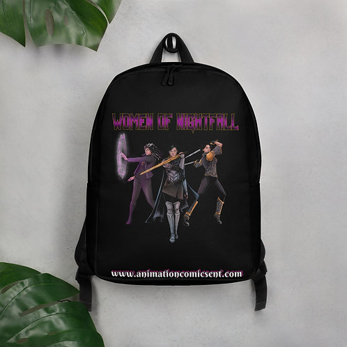 """Women Of Nightfall"" Minimalist Backpack"