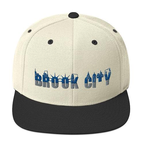 """BROOK-CITY"" Snapback Hat"