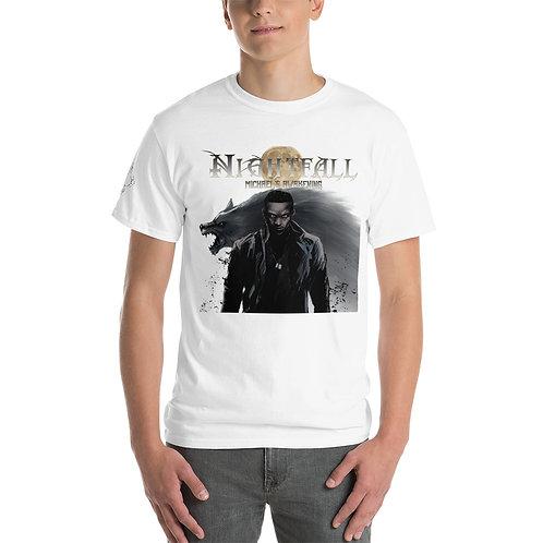 """Nightfall: Michael's Awakening"" Men's Short Sleeve T-Shirt"