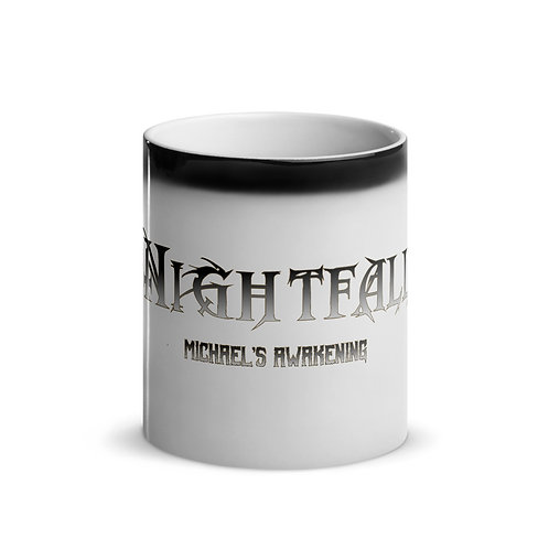 """Nightfall: Michael's Awakening"" Banner Glossy Magic Mug"