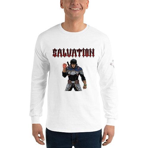 """""""Salvation Fight"""" Men's Long Sleeve Shirt"""