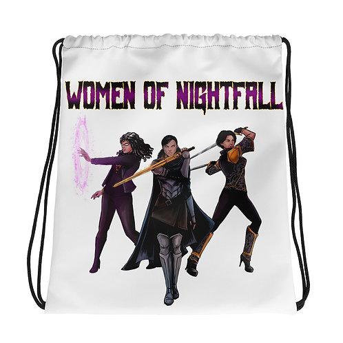 """""""Women Of Nightfall"""" Drawstring bag"""