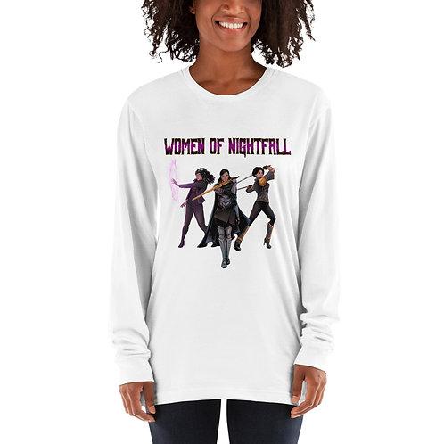 """Women Of Nightfall"" Long sleeve t-shirt"
