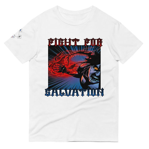 """Fight For Salvation"" Unisex Short-Sleeve T-Shirt"