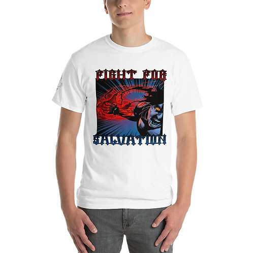 """Fight For Salvation"" Men's Short Sleeve T-Shirt"
