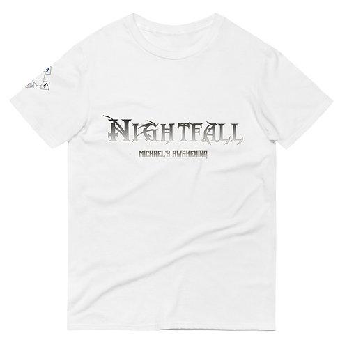 """Nightfall: Michael's Awakening"" Banner Unisex Short-Sleeve T-Shirt"