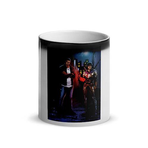 """""""Vash & Vahn"""" Glossy Magic Mug"""