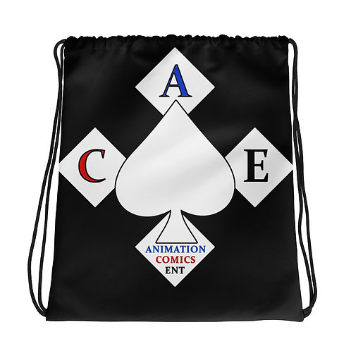 """ACE"" Drawstring bag"