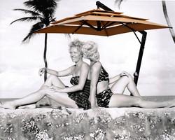 Nostalgic South Beach Umbrellas