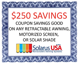 Awning Discount Coupon - Martin County