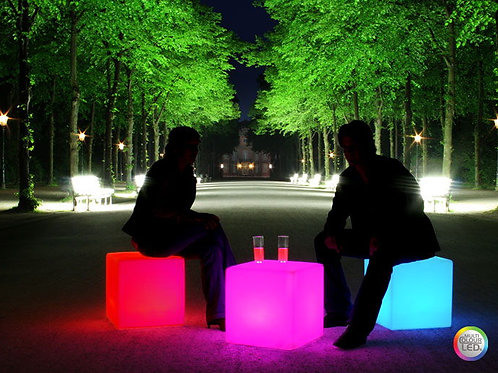 LED Cube Table/Chair