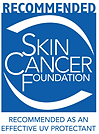 Awnings are recommended by the Skin Cancer Foundation
