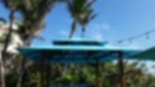 Awning Stars Beachside Cabana at Tideline Hotel and Resort