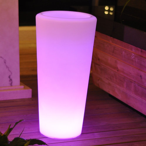 LED Lighted Planter