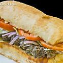 Vegan Kufta Sandwich