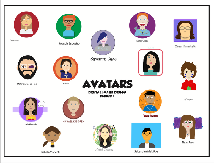 Digital Image Design: Avatars