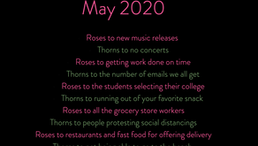 Roses and Thorns May 2020