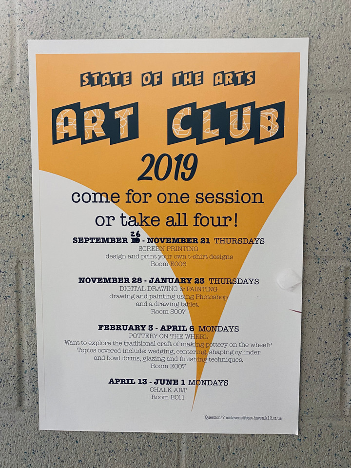 Come Join the Art Club!