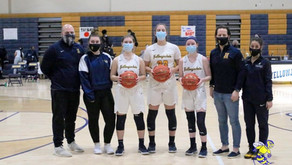 Girls Basketball Defeats Branford on Senior Night