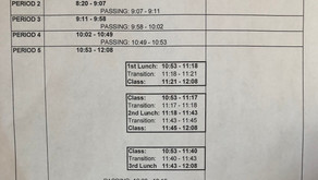 Block and Rotation Scheduling: A Work In Progress
