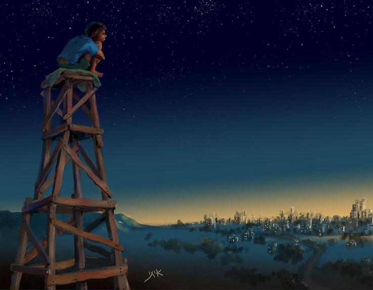 איתי ארד, ציור, לבד.jpg
