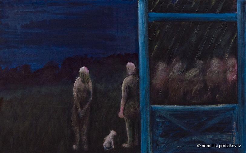 נעמי ליסי פרציקוביץ-אפוקליפסה 2008, ציור