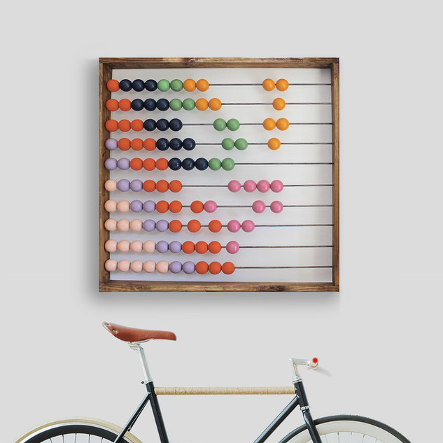 "Abaca ""Candy"" Interactive wall art"