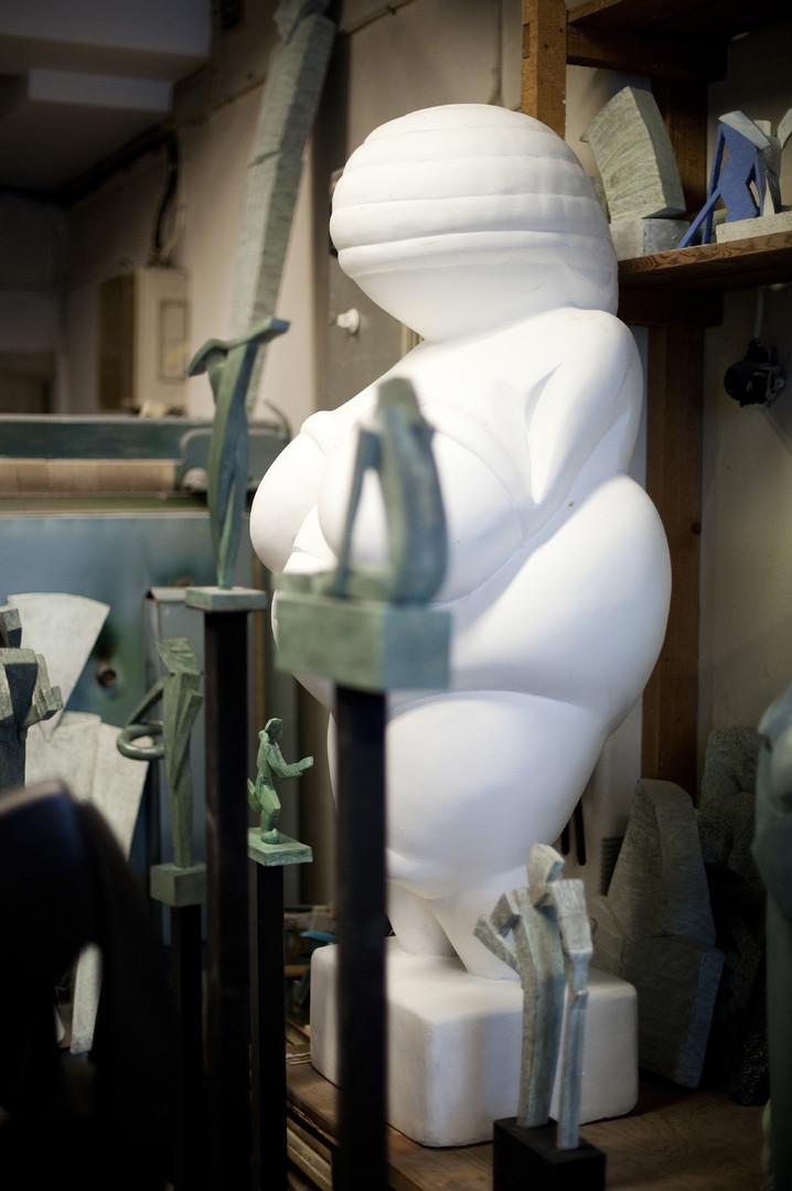 Förstoring av Venus från Willendorf