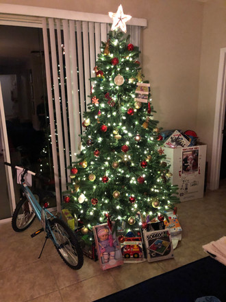 RDI Holiday Party & Toys for Tots donations.