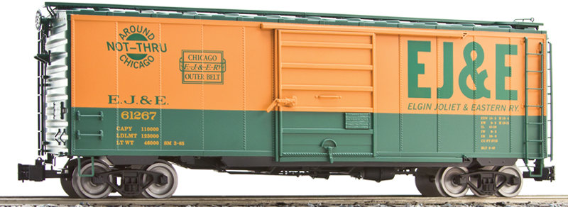 G401-08X PS-1 Box Car - EJ&E, 1 car