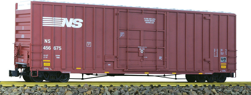 G411-03X 50' Hi-Cube Box Car - Norfolk Southern Brown, 1 car