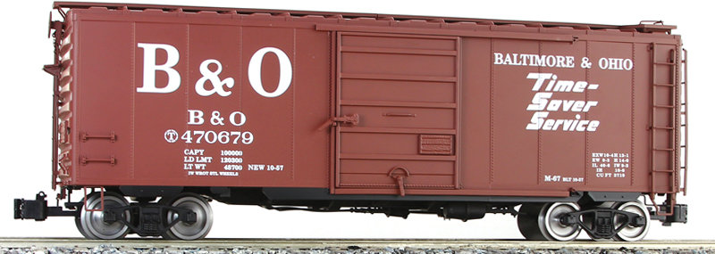 G401-02X PS-1 Box Car - B&O, 1 car