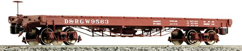 AM2202-51 Idler Flat Car - D&RGW #1003, 1 car