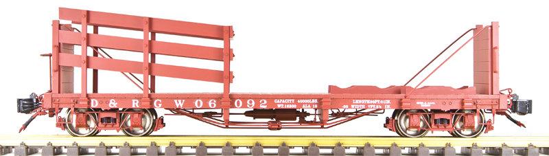 AM31-393 Wheel & Tie Car - D&RGW Box Car Red #06092