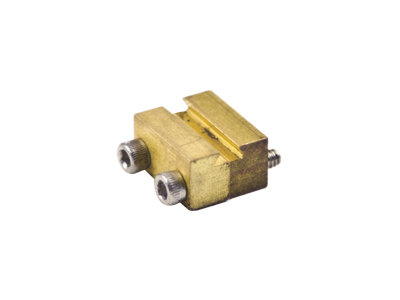 AM39-106B Rail Clamps, Over Rail, Code 250 Brass (100)